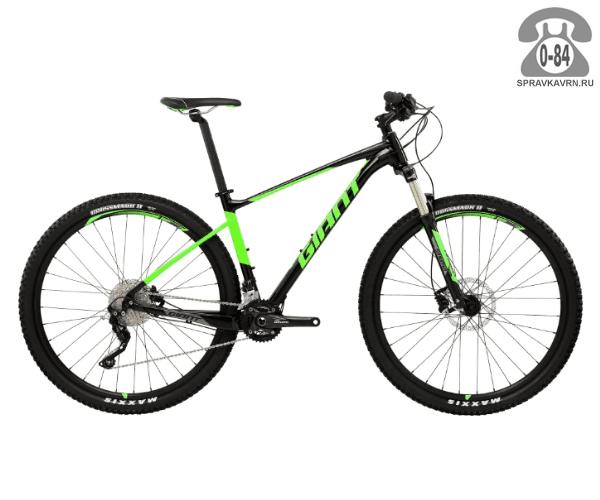 "Велосипед Джайнт (Giant) Fathom 29er 2 LTD (2017), рама 20.5"" размер рамы 20.5"" черный"
