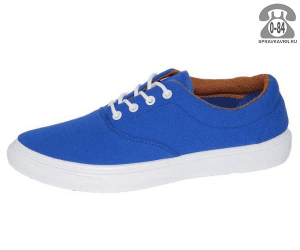 Кеды Триен (TRIEN) WJ-16-046 blue женские 35-40размер, подошва: ПВХ