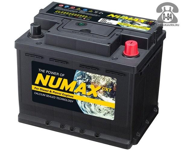 Аккумулятор для транспортного средства Нумакс (Numax) 75D23 65 А*час 570 А 12 В обратная 230*172*220 легковой Корея, республика (Южная Корея)