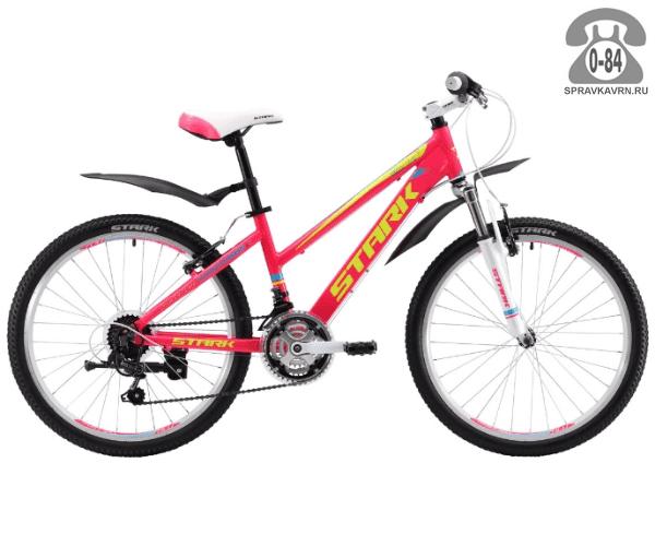 Велосипед Старк (Stark) Bliss 24.1 V (2017), розовый