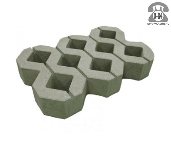 Решётка газонная бетонная