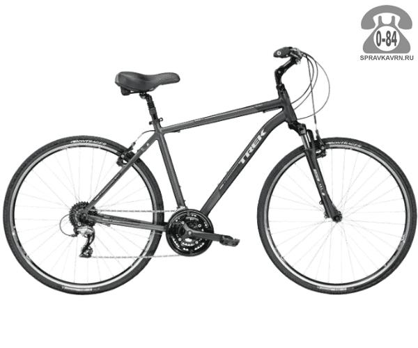 """Велосипед Трек (Trek) Verve 3 (2016), рама 23"""" размер рамы 23"""" черный"""