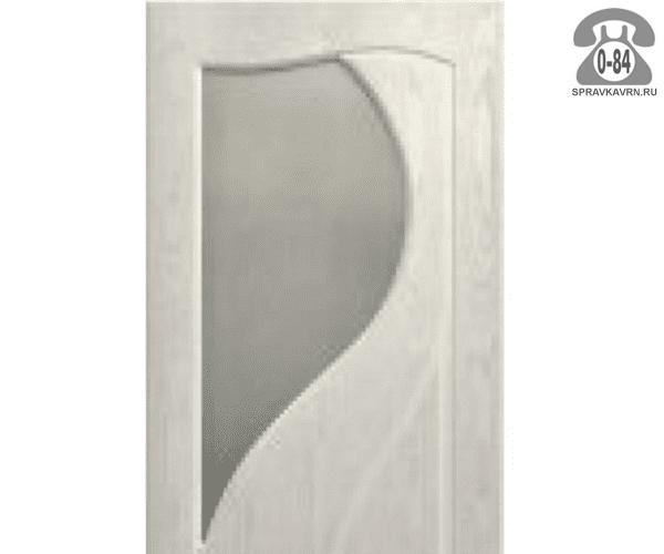 Листовое стекло Левша, фабрика Инь-Янь для двери ПО-80 белое