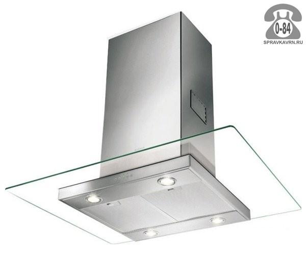 Вытяжка кухонная Фабер (Faber) Glassy Isola SP 90