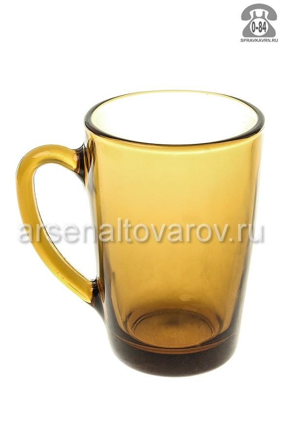 кружка чайная стеклянная 300 мл (62005) Маттина ди кафе (Россия)