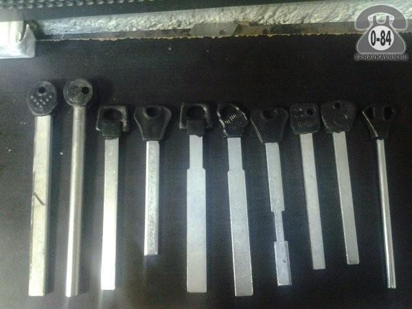 Ключ реечный; для гаражного замка. Цена. Заготовка для изготовления