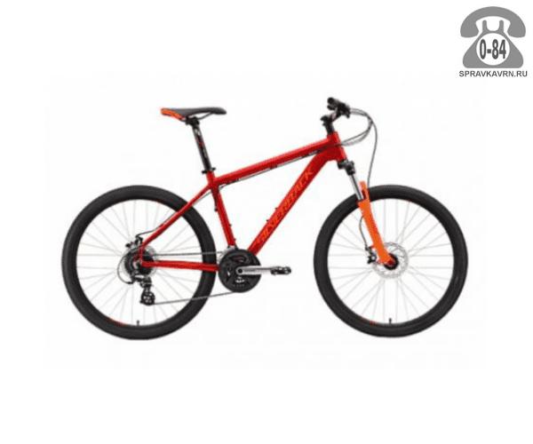 "Велосипед Сильвербэк (Silverback) STRIDE 20 (2016), рама 18.5"", красный размер рамы 18.5"" красный"