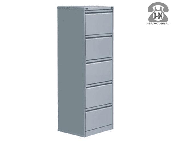Шкаф картотечный металлический ПАКС-металл КР-5