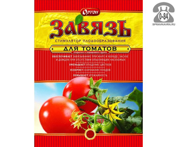 Стимулятор роста растений Ортон Завязь для томатов, 10 г