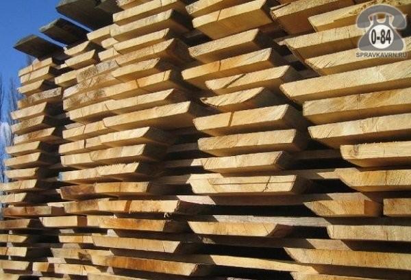 Доска необрезная Аско-лес сосна 30 мм сырая (естественной влажности)