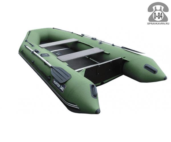 Лодка надувная Hunterboat Хантер 340, зеленый 340002