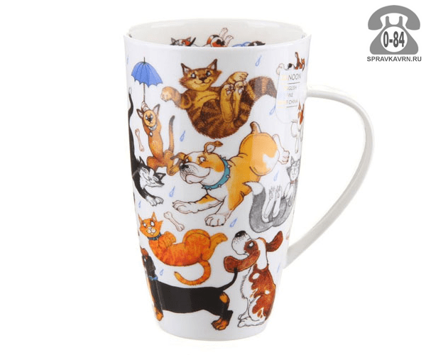 Кружка Данун (Dunoon) HENLEY RAINING CATS AND DOGS