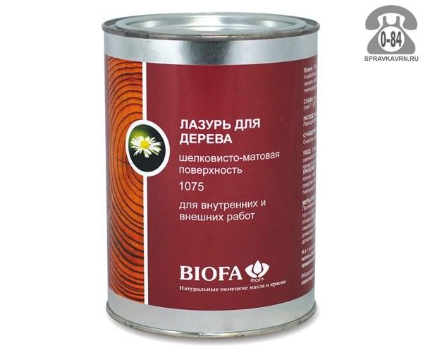 Пропитка Биофа (Biofa) Лазурь для дерева 1075