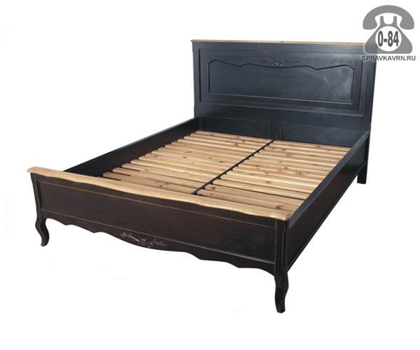 Кровать Чёрный сапфир 2000x1600x1200 мм
