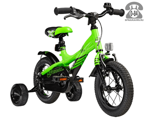 Велосипед Скул (Scool) XXlite 12 alloy (2017), зеленый