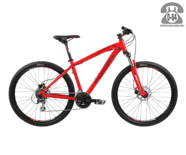 """Велосипед Формат (Format) 1413 27.5 (2017) размер рамы 19.5"""" красный"""