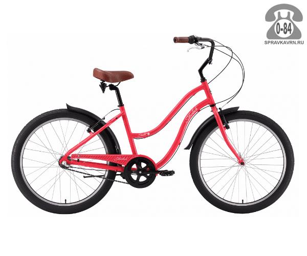 "Велосипед Сильвербэк (Silverback) SCARLET 3 (2016) размер рамы 18.5"" розовый"