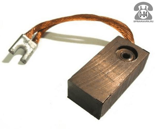 Щётка для электрической машины для двигателя электрического (электродвигателя) меднографитная