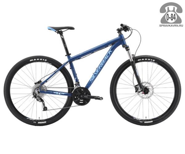 """Велосипед Сильвербэк (Silverback) SPECTRA COMP (2016) размер рамы 22.5"""" синий"""