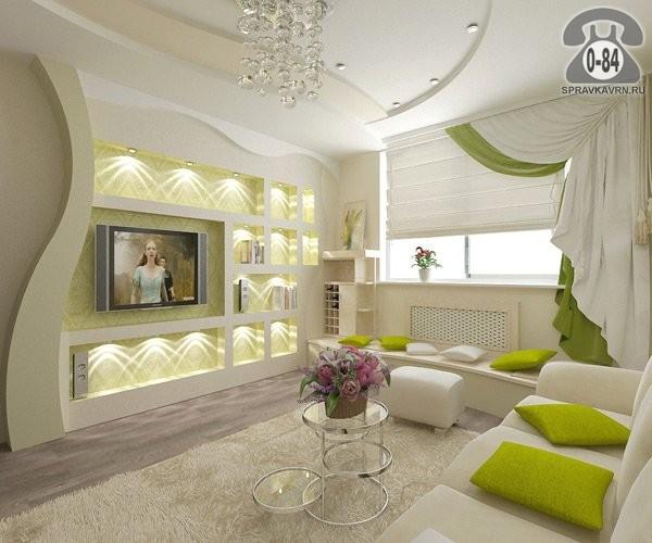 Дизайн и оформление гостиной