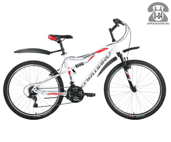 """Велосипед Форвард (Forward) Benfica 1.0 (2017) размер рамы 18.5"""" белый"""