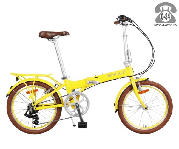Велосипед Шалз (Shulz) Easy (2017), желтый