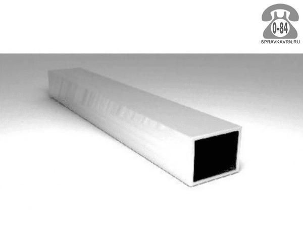 Алюминиевые трубы профильная (квадрат, прямоугольник)