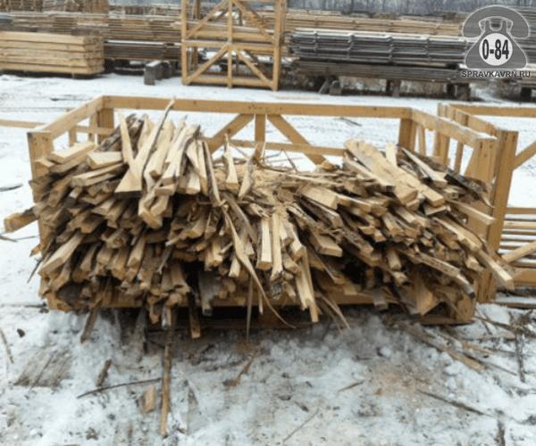 Отходы доски обрезной 1 м