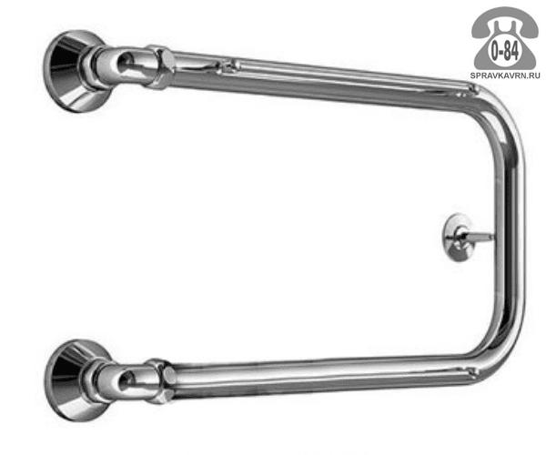 Полотенцесушитель Маргроид В35 без полочек горячая вода (водяной) 500x500 мм