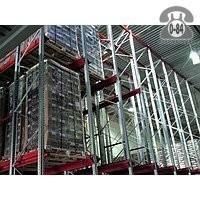 Стеллажи складской многоэтажный (мезонин)
