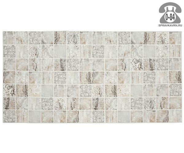 Панель стеновая Мрамор венецианский 0.955х0.48 м