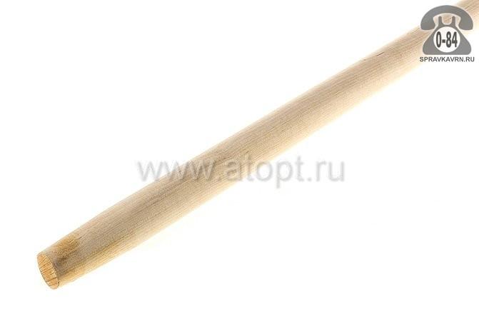 Черенок деревянный для лопаты 1200 мм 40 мм первый шлифованная Россия