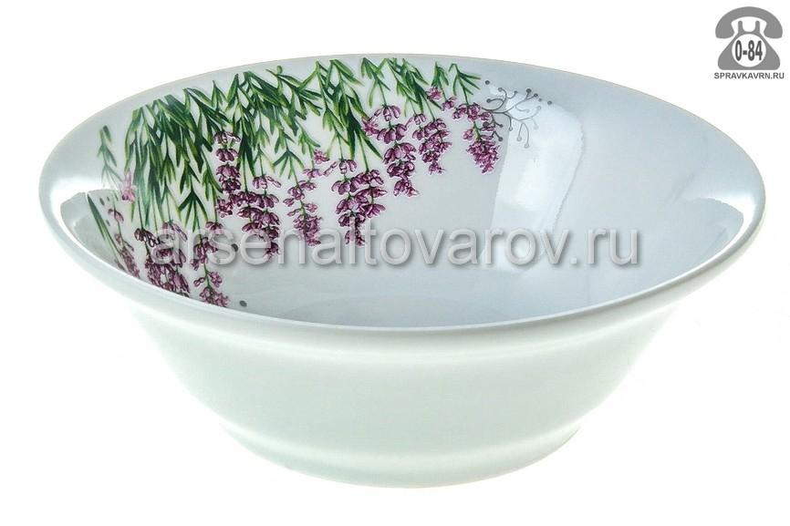 Салатник Добрушский фарфоровый завод Идиллия Лаванда 7С0977