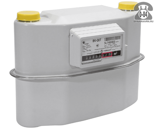 Счётчик газа Эльстер (Elster) BK-G6T