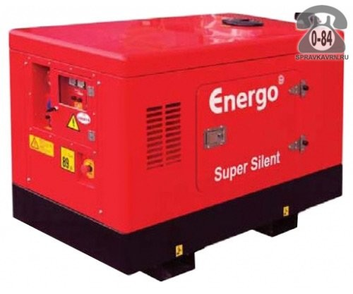 Электростанция Энерго ED 13/230 Y SS, двигатель Yanmar