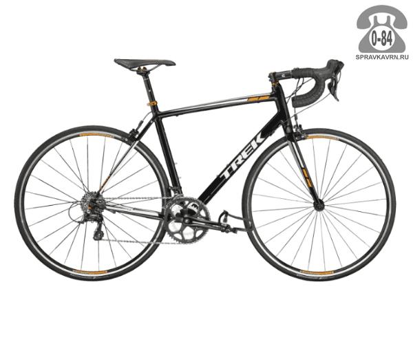 """Велосипед Трек (Trek) 1.2 (2016), рама 21"""" размер рамы 21"""" черный"""