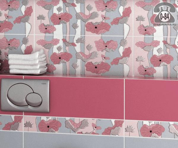 Плитка керамическая облицовочная Керама Марацци (Kerama Marazzi) Городские цветы 7081
