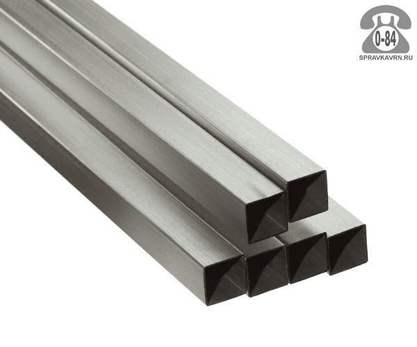 Профильные стальные трубы 100*100 3 мм 3 м резка