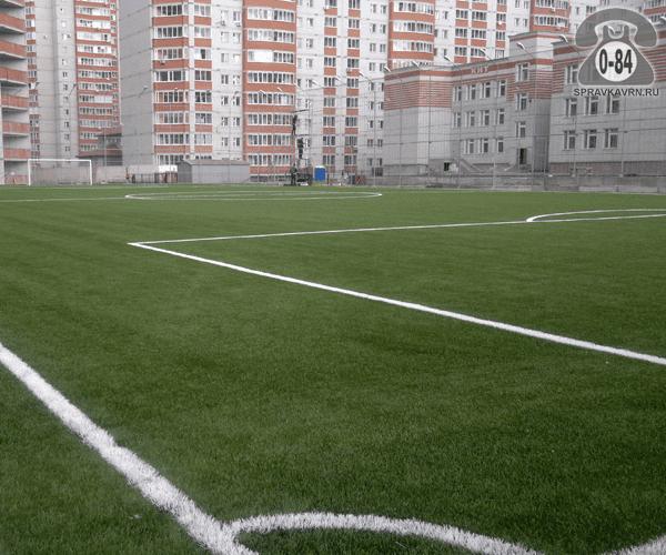 Футбольное поле г. Воронеж строительство