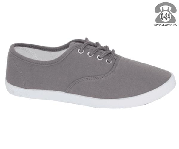 Кеды Триен (TRIEN) LG2016-01-grey женские 35-40размер, подошва: ПВХ