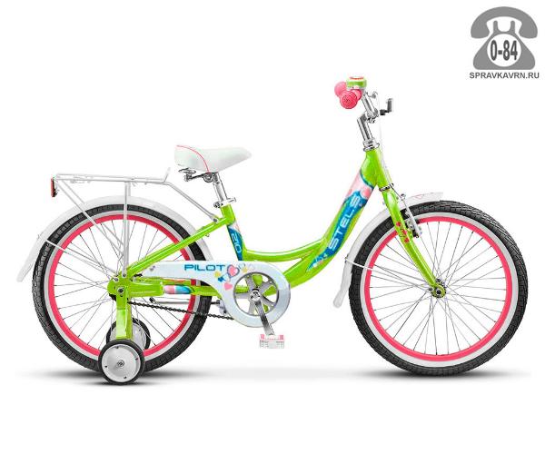 Велосипед Стелс (Stels) Pilot 210 Girl (2016), зеленый