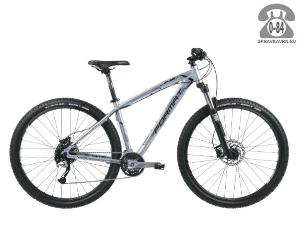 """Велосипед Формат (Format) 1411 29 (2017) размер рамы 17.5"""" серый"""
