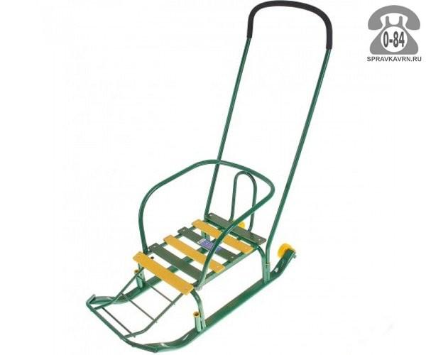 Санки Ника Тимка-3 + зеленые для одного ребенка