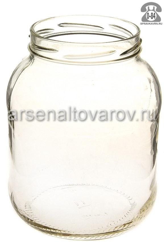 банка стеклянная для консервирования Твист - 89 1,415 л (винтовая крышка) (Камышин)