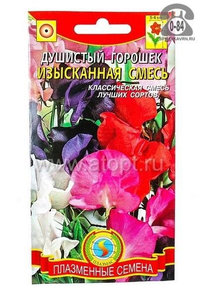 Семена цветов Евро-семена горошек душистый Спенсер Наследие высокорослый однолетник 0,5 г Россия