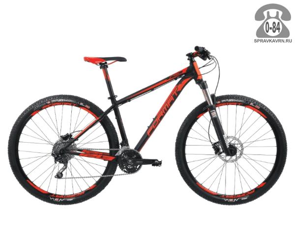 "Велосипед Формат (Format) 1213 29, рама 19,5'' (2017) размер рамы 19.5"" черный"