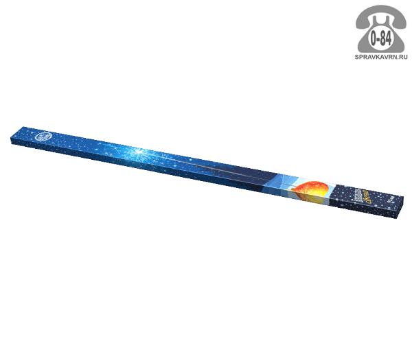 Свеча бенгальская НИИПХ 91 см 250 с 4 шт. 270 г Россия