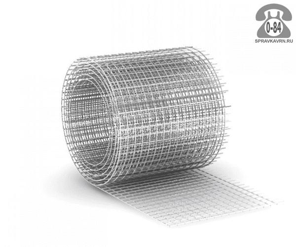 Строительная сетка диаметр 1.6мм  ячейка 25x25мм ширина 1.5м