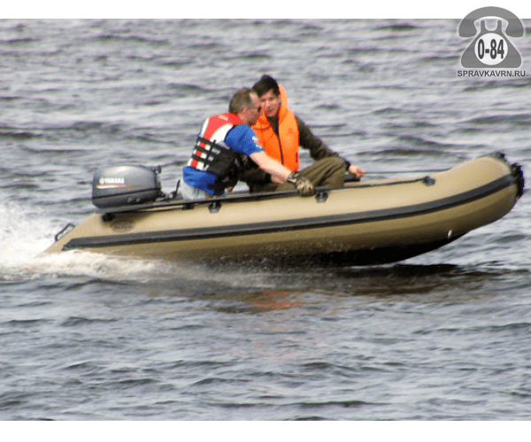 Лодка надувная Баджер (Badger) Duck Line 370 AL
