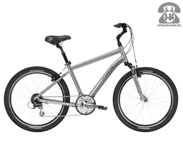 """Велосипед Трек (Trek) Shift 3 (2016), рама 21.5"""", серый размер рамы 21.5"""" серый"""